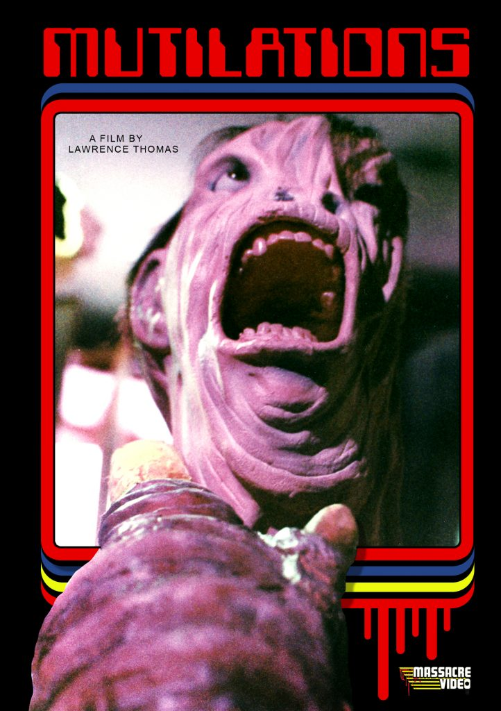 MUTILATIONS Limited Edition DVD Cover