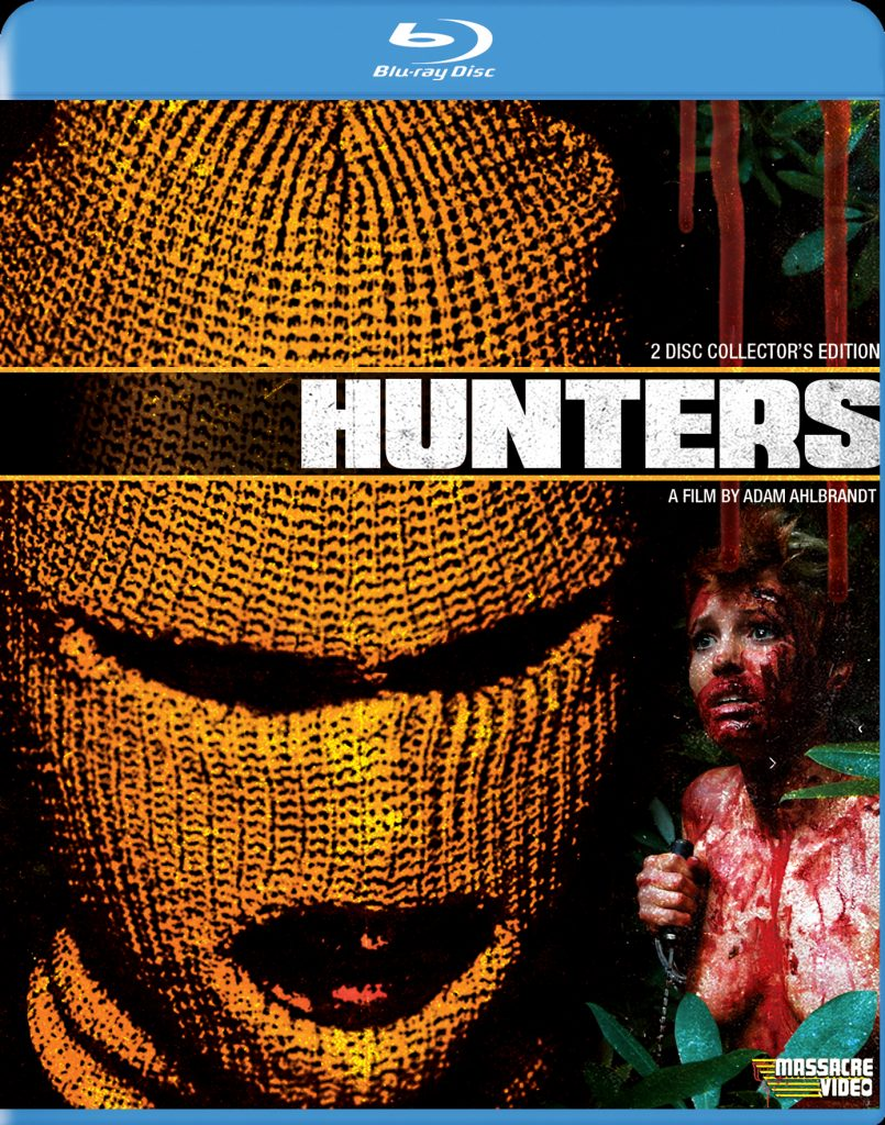Retail HUNTERS Blu-ray Cover